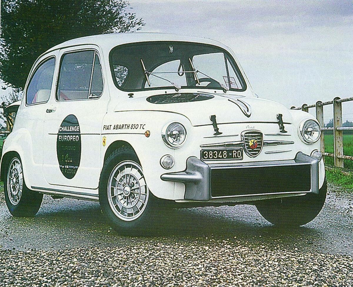 1965 850tc Berlina Corsa Berni Motori Abarth